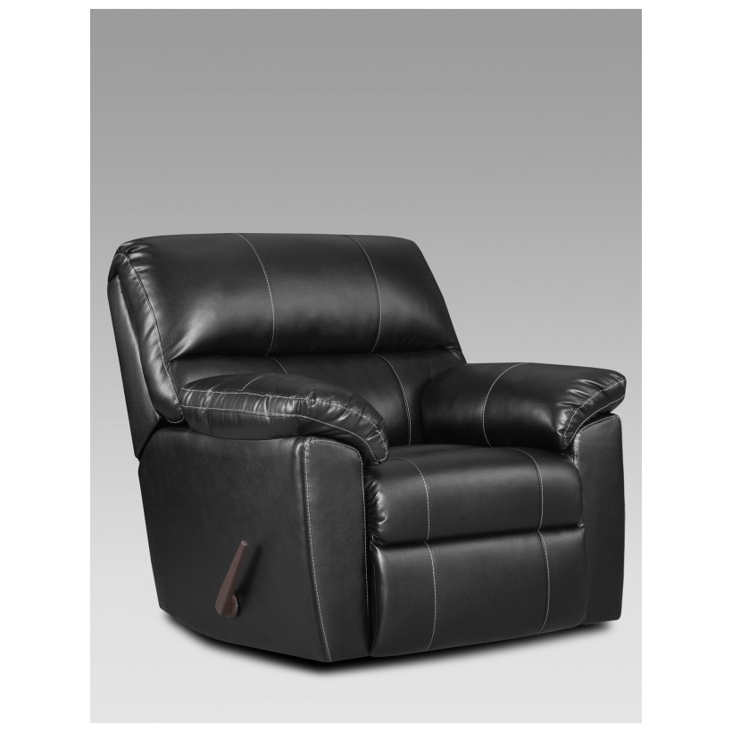 Fitzgerald Furniture CL AUSTIN BLACK RECLINER