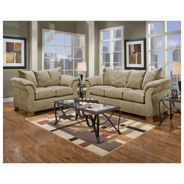 Affordable Furniture A6702/6703 CAMEL