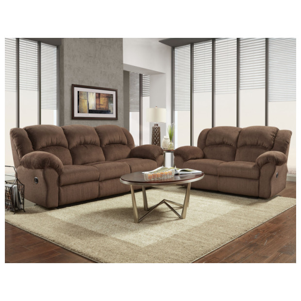 Affordable Furniture A1002/1003 CHOCOLATE