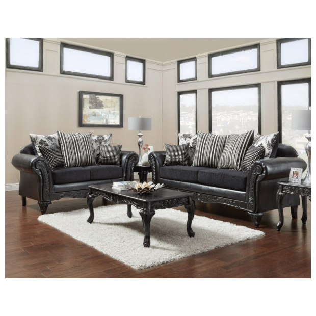 Fitzgerald Furniture CL SINBAD BLACK S/L