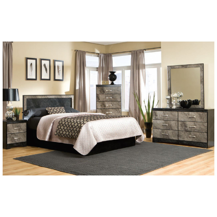 Fitzgerald Furniture CL MEMPHIS Q/FHBDMN