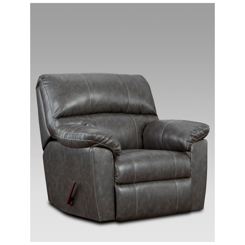 Fitzgerald Furniture CL STALLION CHARCOAL RECLINER