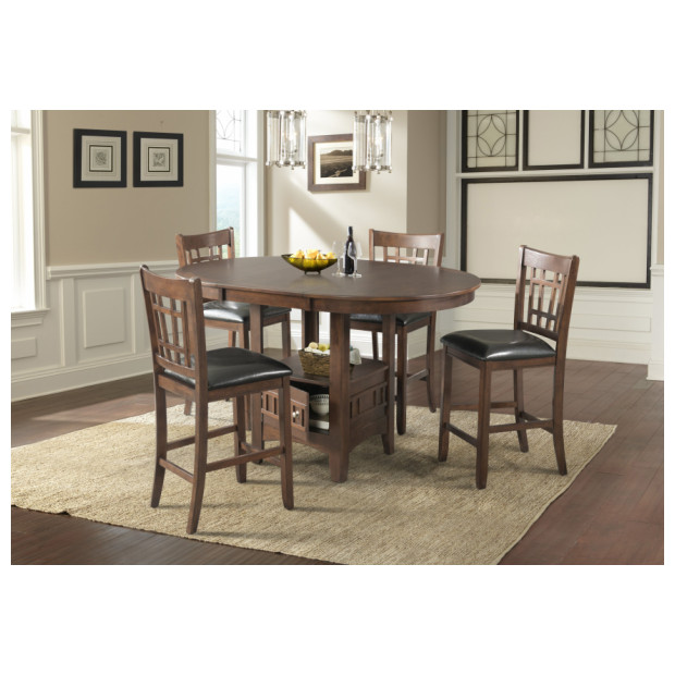 Fitzgerald Furniture CL MAX PUB TABLE AND 4