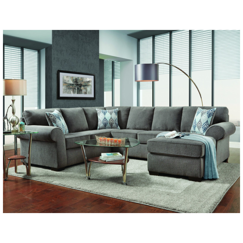 Fitzgerald Furniture CL CHARISMA SMOKE 2PC