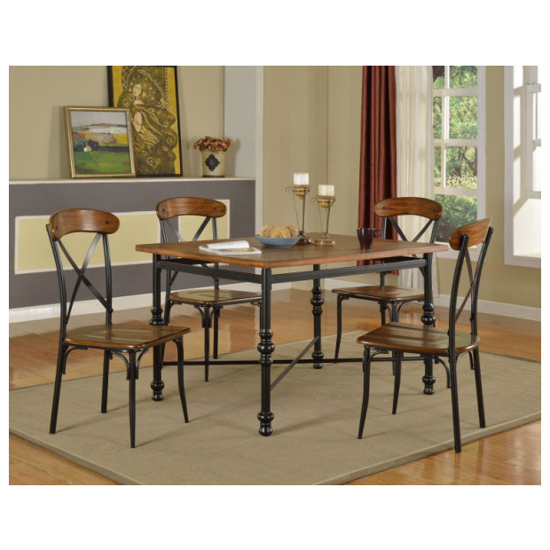 Fitzgerald Furniture CL MARSEILLE DINING TABLE W/4