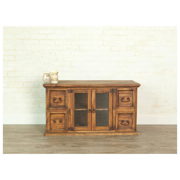 Fitzgerald Furniture CL RUSTIC 65 TV STAND