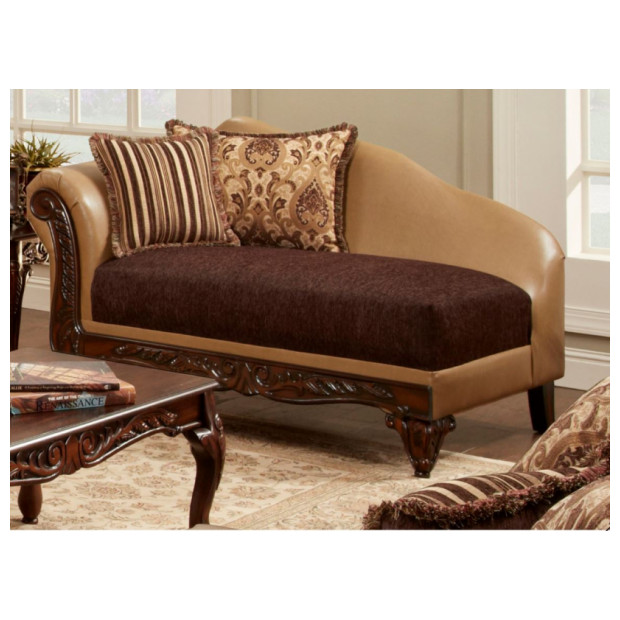 Fitzgerald Furniture CL AVANTI BRONZE CHAISE